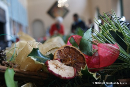 Wreath making workshops at Uppark